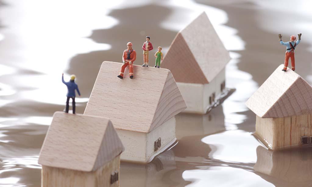 Hilfe für die Betroffenen der Katastrophe