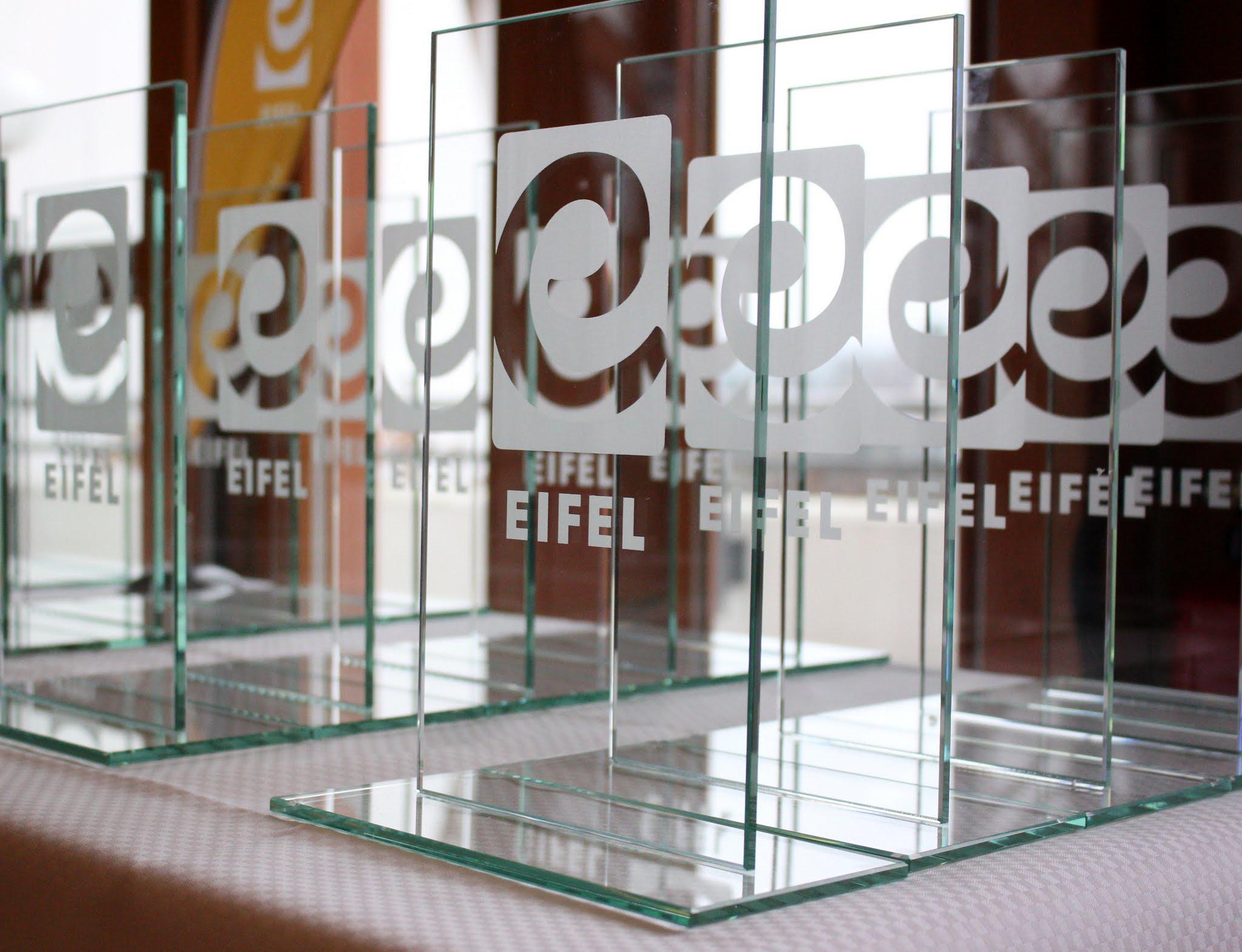 Eifel-Award 2017 Trophäen